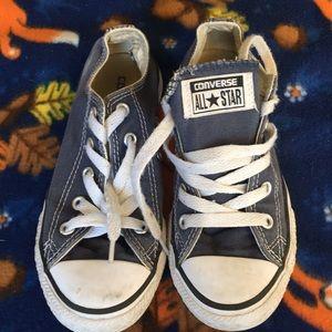 Youth Converse slate blue 14 Chucks boy or girl